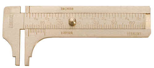 Brass Sliding Gauge