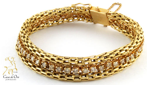 Diamond Bracelet 14K Yellow