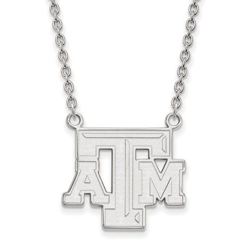 Texas A&M Pendant Sterling