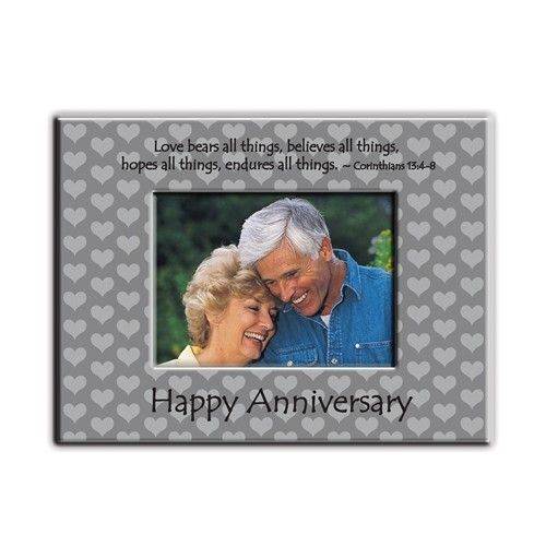 Happy Anniversary 3x5 Photo Frame