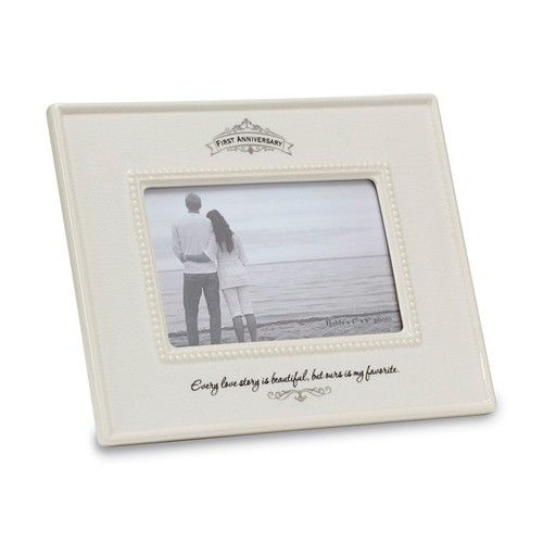 Insignia First Anniversary Photo Frame