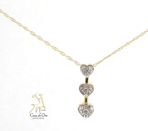 Diamond Pendant 14K Yellow
