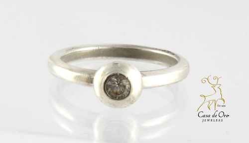 James Avery Sterling Silver CZ Ring