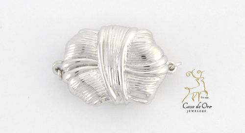 Pearl Clasp Sterling