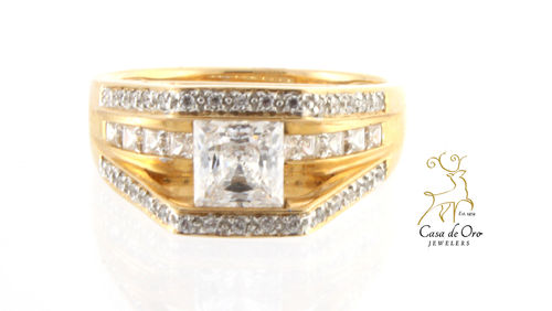 Cubic Zirconia (CZ) Ring 14KY