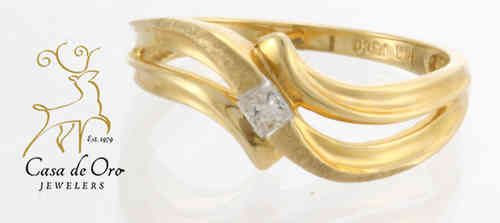 Diamond Ring 14K Yellow