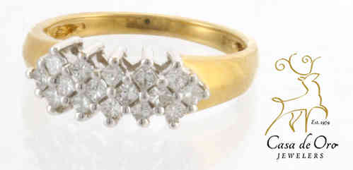 Diamond Band 14K Yellow