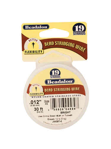 Bead Stringing Wire - 19 Strand