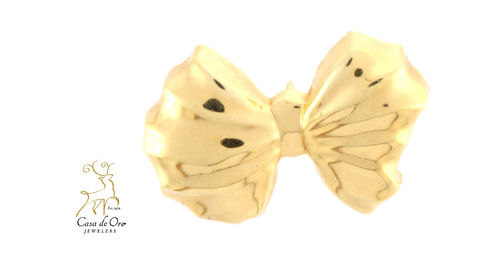 Gold Bow Slide 14K Yellow