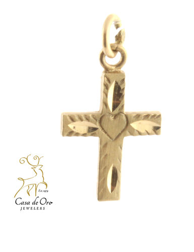 Cross Pendant 14K Yellow