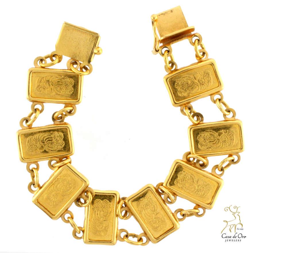 Fortuna Coin Bracelet 18ky Price