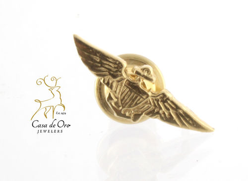Gold Naval Aviator Wings 14KY