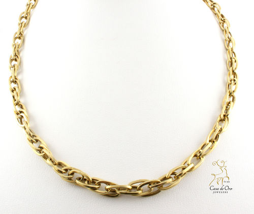 Gold Link Chain 14K Yelllow