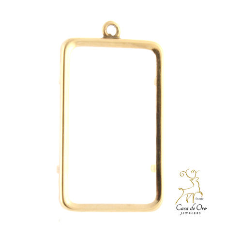 10g Credit Suisse Bezel 14K Yellow